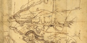 Civil War Reconnaissance Map of Arlington