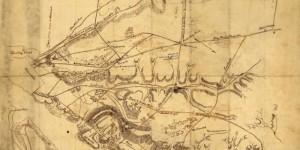 Civil War Reconnaissance Map of Arlington